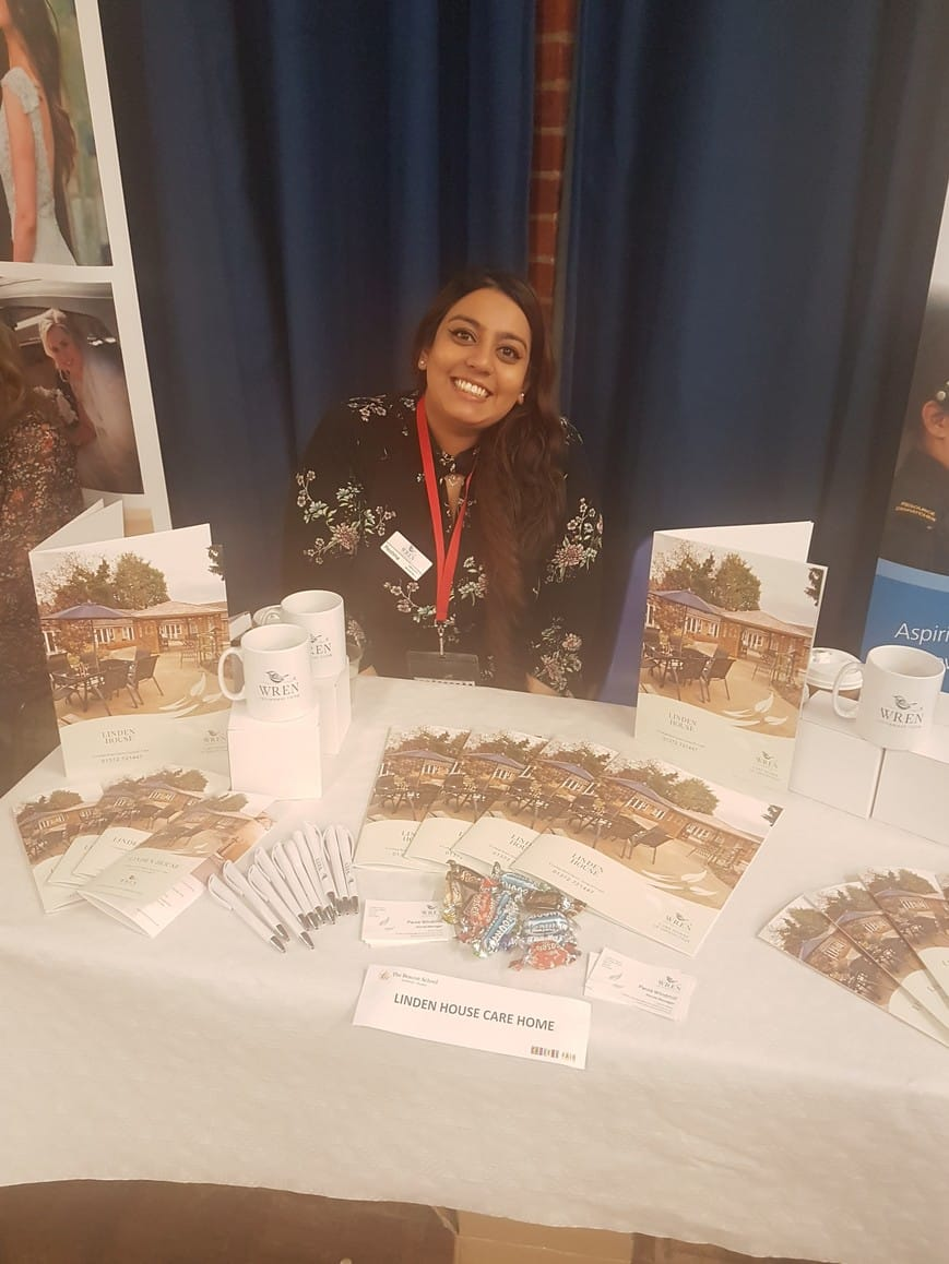 Linden House attends local careers fair