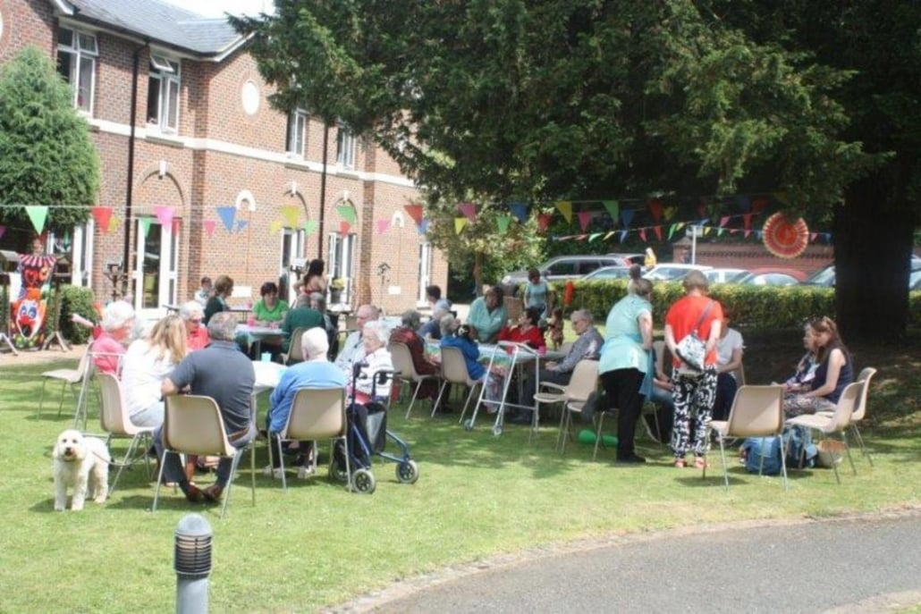 Garden party fun at Westerham Place