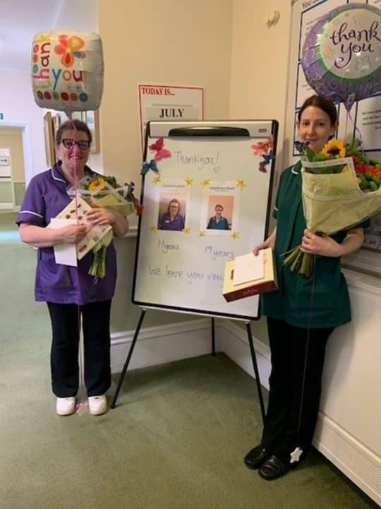 Westerham Place celebrate Staff Recognition Week
