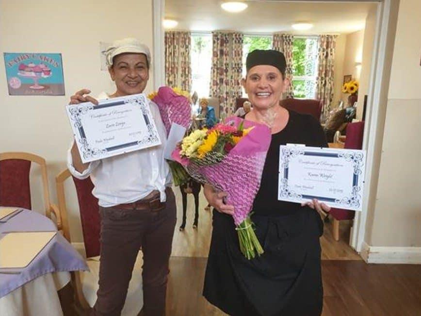 Linden House celebrate staff contribution